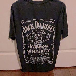 2x His/Her Jack Daniels Matching  T-shirts